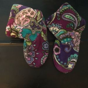 Vera Bradley slipper booties 💕💙💕